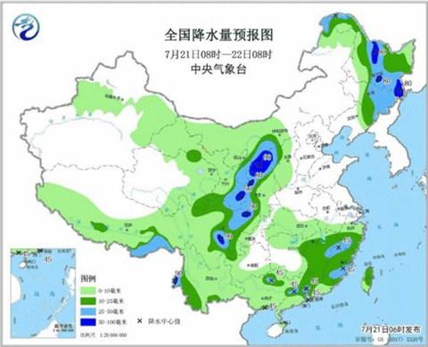 明起河南迎大范围降雨 局地暴雨 郑州天气预报