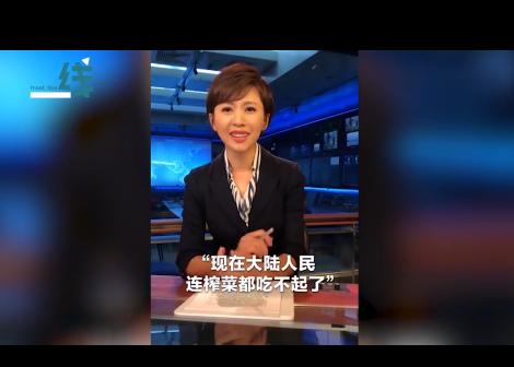 黑城散体两手房网-央视欧阳夏丹笑怼台湾节目:宵夜,咱要不上点榨菜?