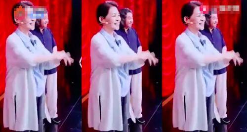 倪萍跳火箭少女舞 优雅中略显反差萌