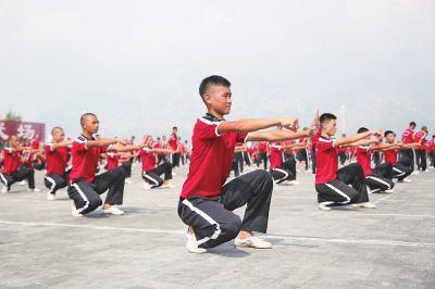 河南武术将点亮全国民族运动会开闭幕式
