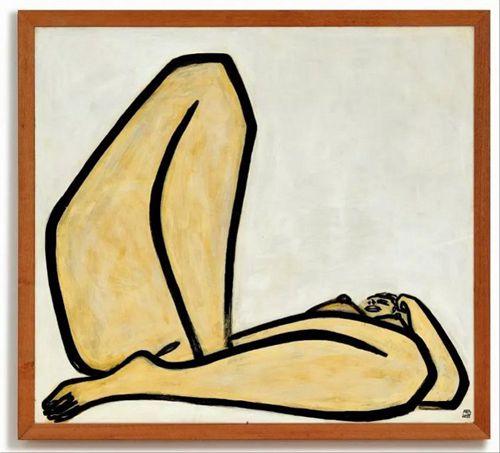 常玉《曲腿裸女》拍卖 1.98亿港币的天价画作好在哪?