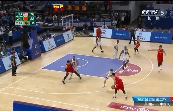 军运会男篮赛程:中国队大胜美国队 王哲林独砍27分