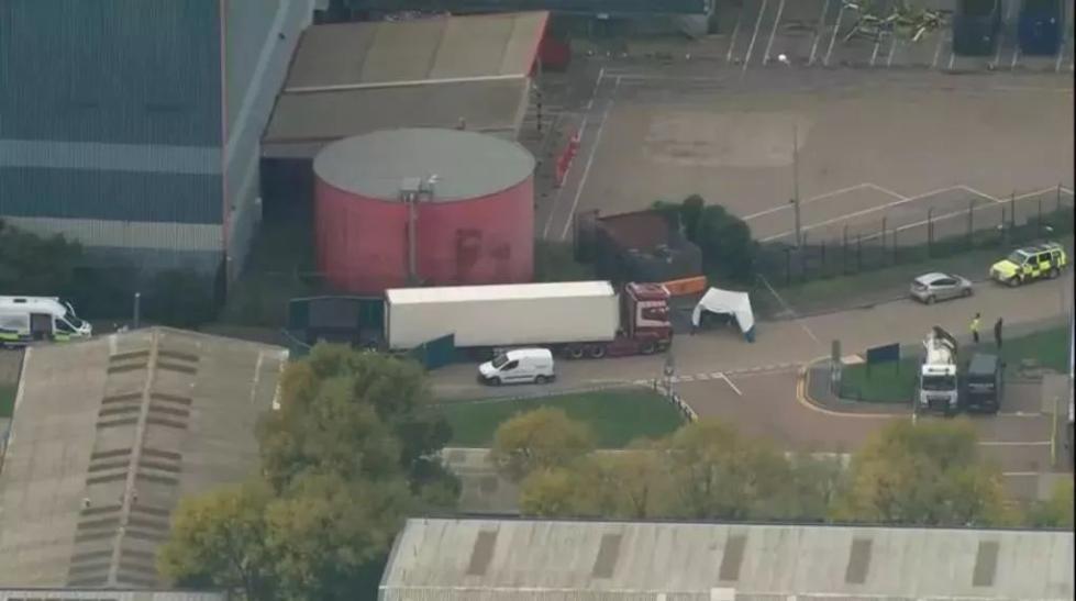 英国一货车现39具尸体 警方确认所有尸体都为中国人 中国使馆回应