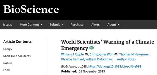 警告全球气候危机 若不改变世界将面临数不清的