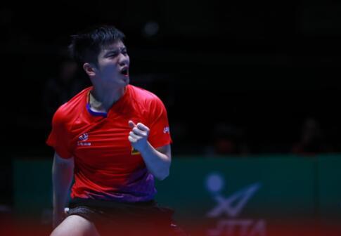 乒乓球世界杯团体赛 中国男乒完胜韩国 实现8连
