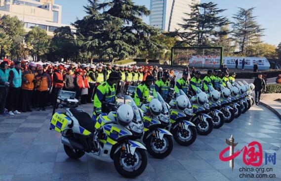 """河南省""""122交通安全日""""主题活动今日在郑州举行"""