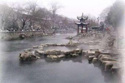 杭州径山寺等地下雪 主城区等地