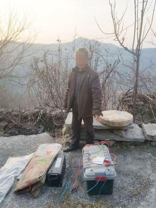 辉县森林公安破获一起猎捕野生动
