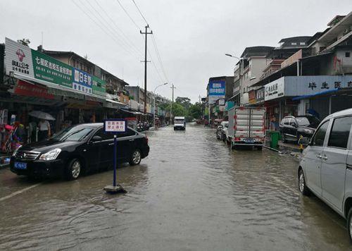 桂林暴雨致部分道路中断 最新路况速看