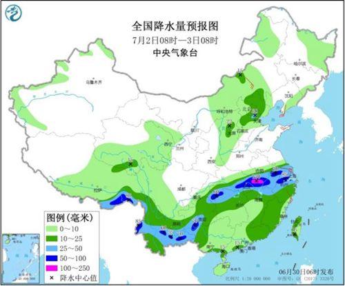 江南中北部西南地区等地有强降雨 华北等地多对流性天气