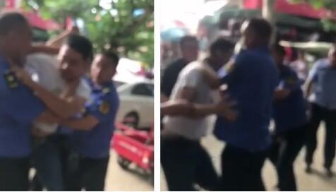 南阳方城县城管疑似暴力执法殴打送货人员 公安部门已介入调查
