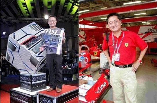 微星科技CEO江胜昌坠亡 上任仅一年半轻生