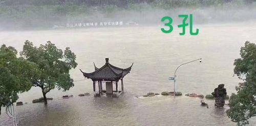 千岛湖首次9孔全开泄洪 威力有多大?半小时流一个西湖