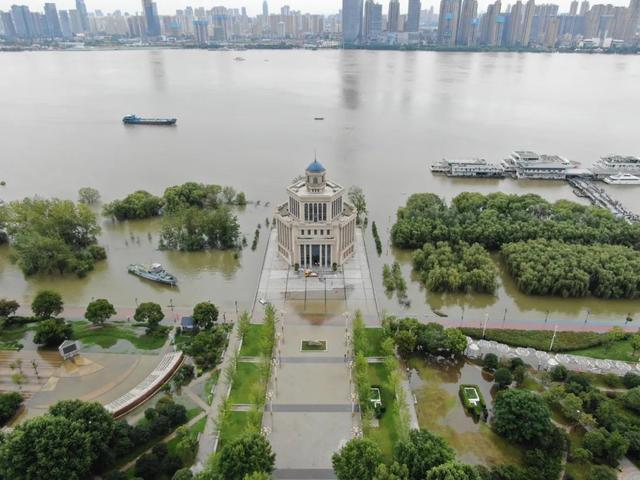 长江中下游各江段未来2到3天将迎洪峰