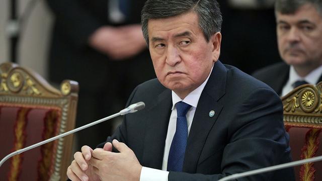 吉尔吉斯斯坦总统解散政府