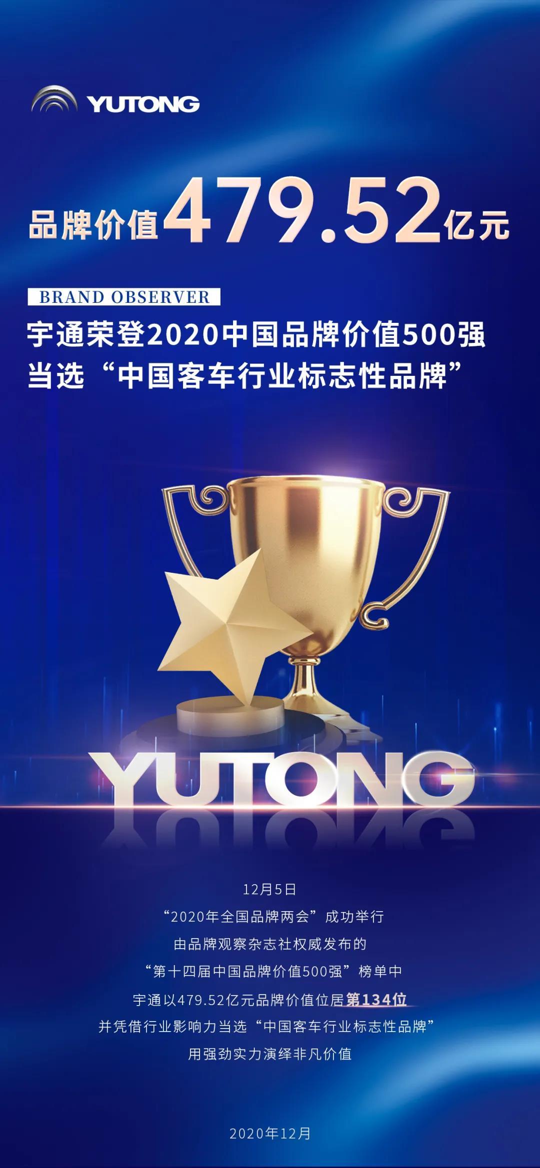 两项大奖!皇冠体育:上榜中国品牌价值500强位列行业第一