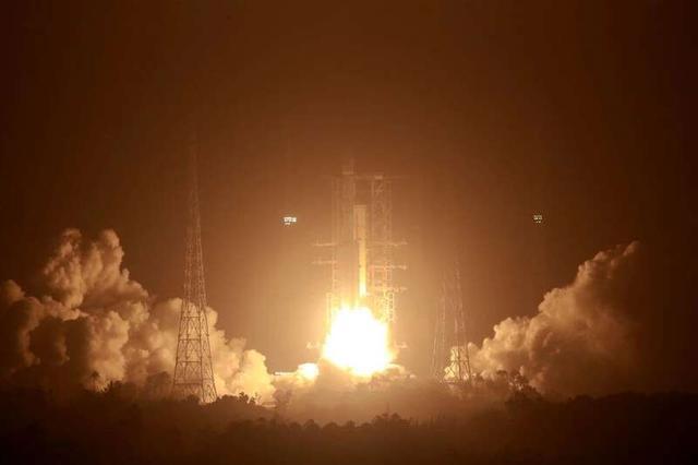 长征七号改遥二运载火箭成功发射 运载能力不少于7吨